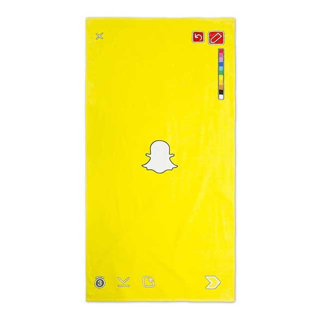 Snapchat'ten Plaj Havlusu