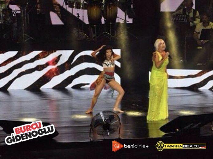 ünlü dans eğitmeni albüm yaptı. Burcu Gidenoğlu'nun 'Ters' şarkısı yayınlanıyor.